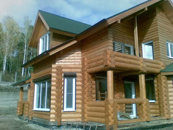 case di tronchi bagne di cedro larice pino siberia
