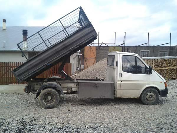 Camioneta basculabila ford de vanzare!!!