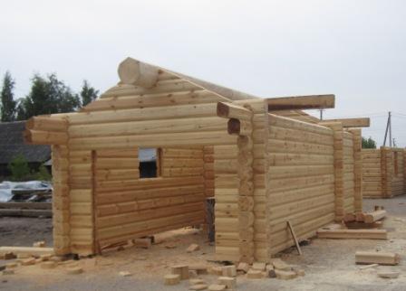 Log House Log Cabin Wood House