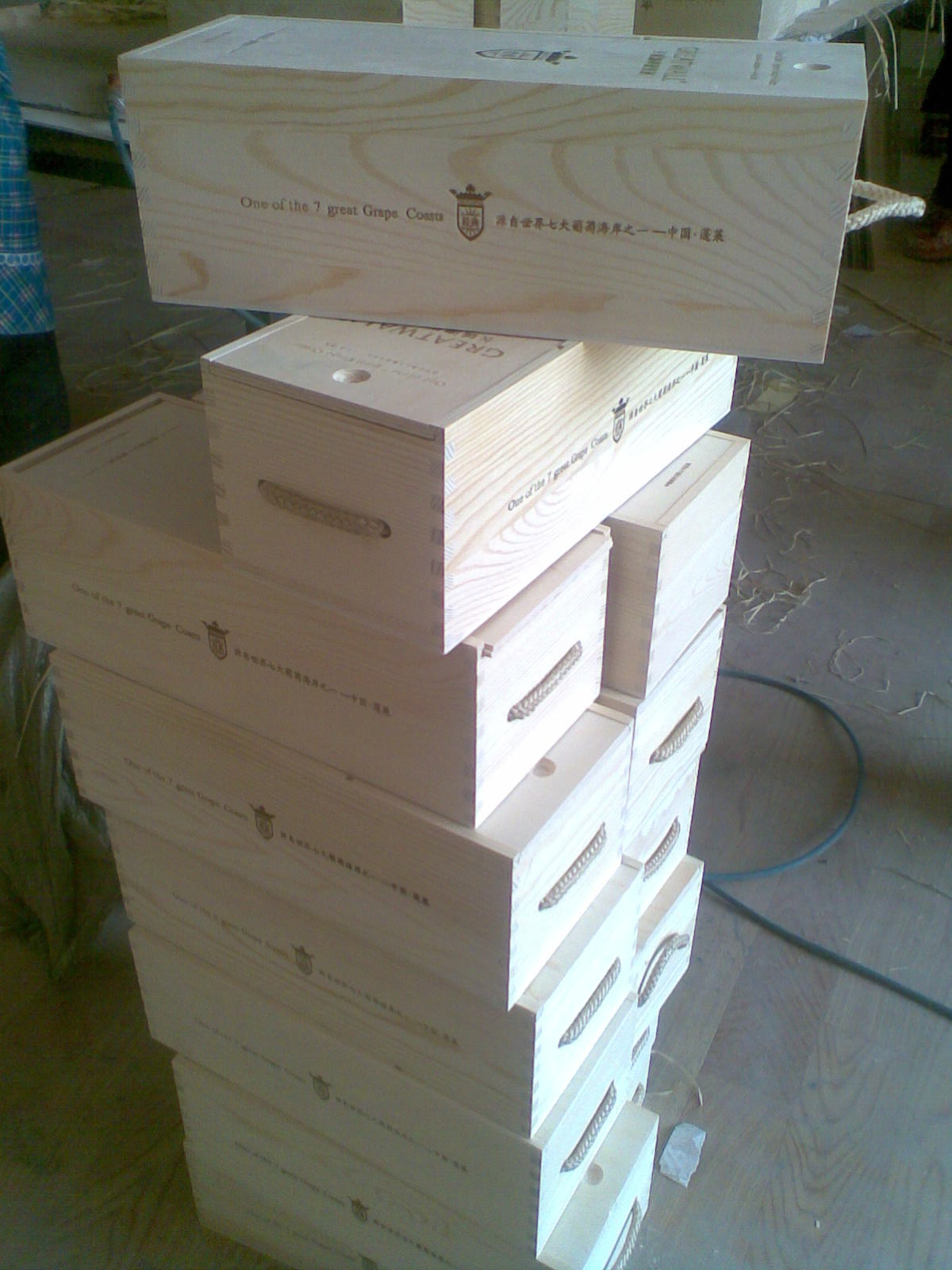 Vendita scatole di legno di pino per vino - Vendita tavole di legno ...