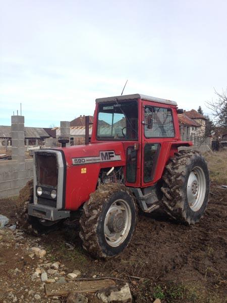 Vand Tractor Massey Ferguson 90 cp 4x4