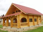 Case resedinta si cabane din lemn rotund
