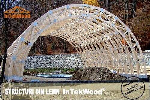 Producem structuri pentru constructii din lemn