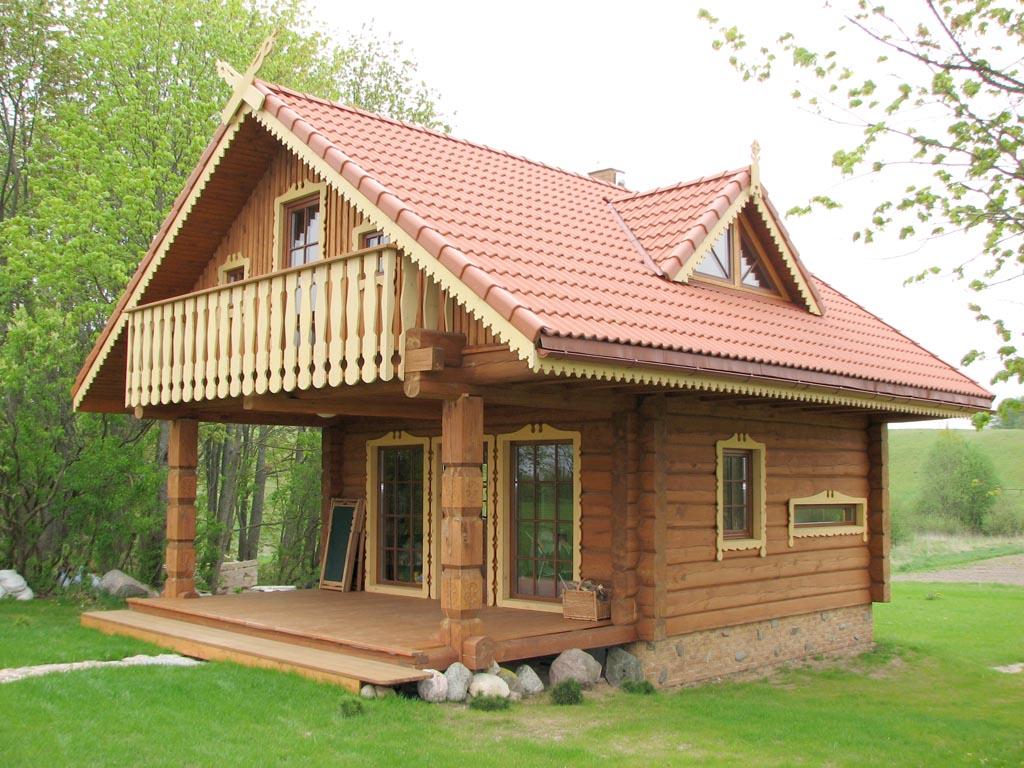 Rundholzhuser for Case legno romania prezzi