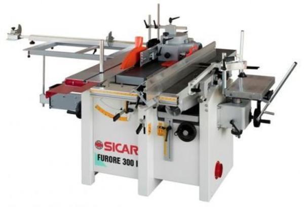 Masina universala de tamplarie cu 5 operatii FURORE 300 I - SICAR
