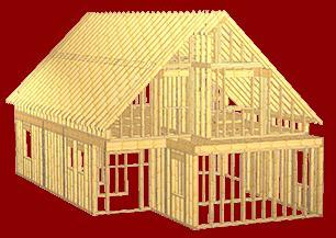Vindem case pe structura din lemn
