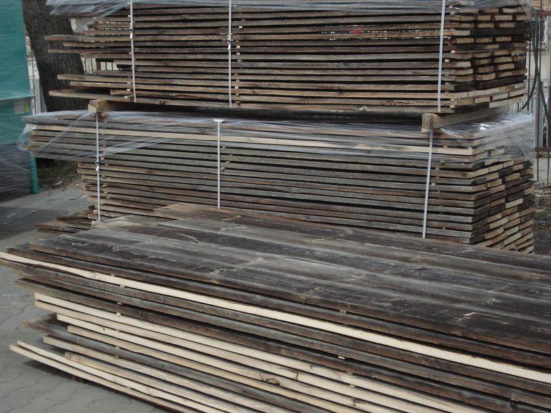 lemn vechi din demolari