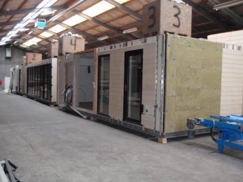 FABRICA/Linie completa de productie a elementelor prefabricate pentru case din lemn