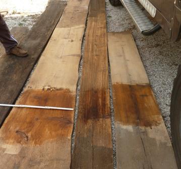 Vendo legno di recupero rovere abete castagno quercia larice cedro pioppo noce tavolame tavole - Tavole di legno per edilizia ...