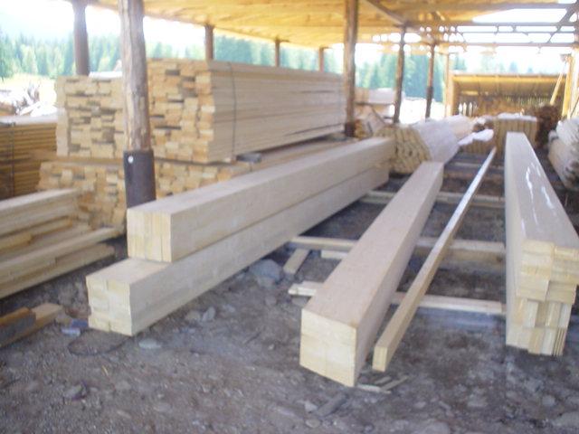 Sarpante din lemn masiv