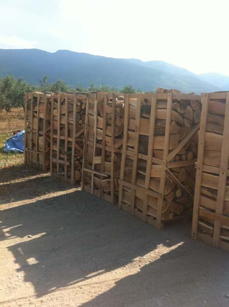 Achat de bois de chauffage palettisé et vrac grosses quantités # Achat Bois Chauffage