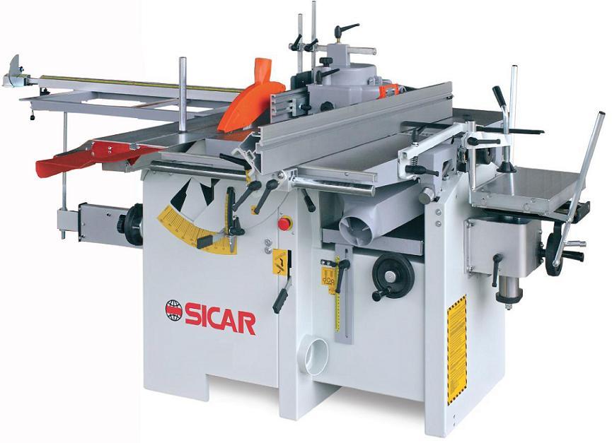 Masina universala de tamplarie cu 5 operatii PRO 400 - SICAR