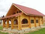 Case din lemn masiv si structura