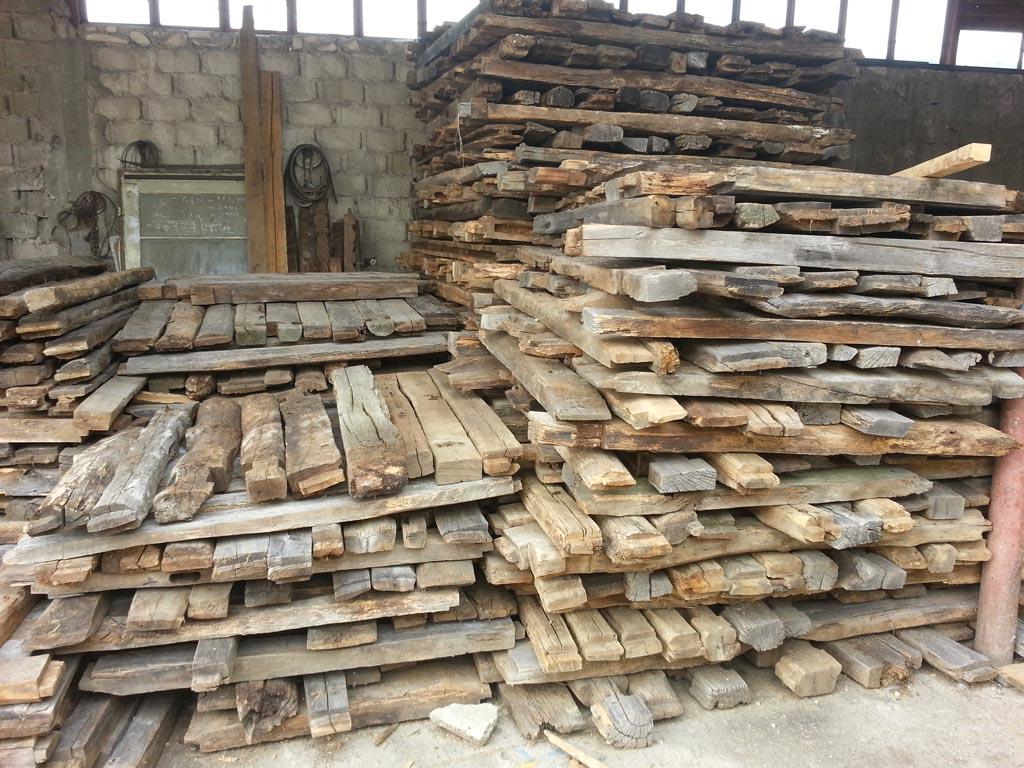 Vieux bois issu de r cup ration - Recuperation de bois gratuit ...