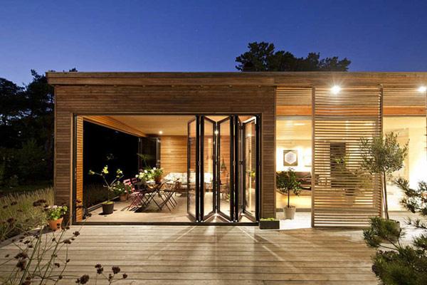 dorim constructie lemn, 100 metri patrati