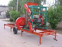 MJ1000 portable sawmill