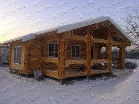 Case prefabricate din lemn.
