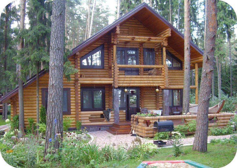 Casas de madera redonda caba as - Casas de madera redondas ...