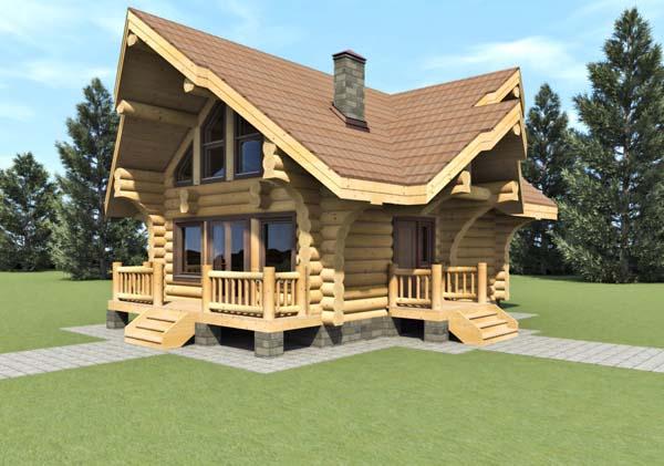 Distribuitori case di tronchi for Case di tronchi ranch