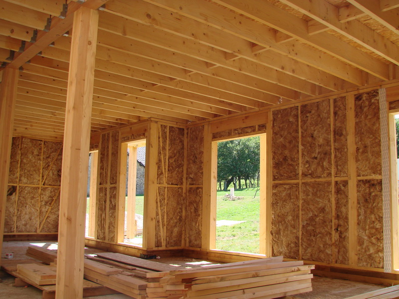 Estructuras de madera para casas images - Estructura casa madera ...