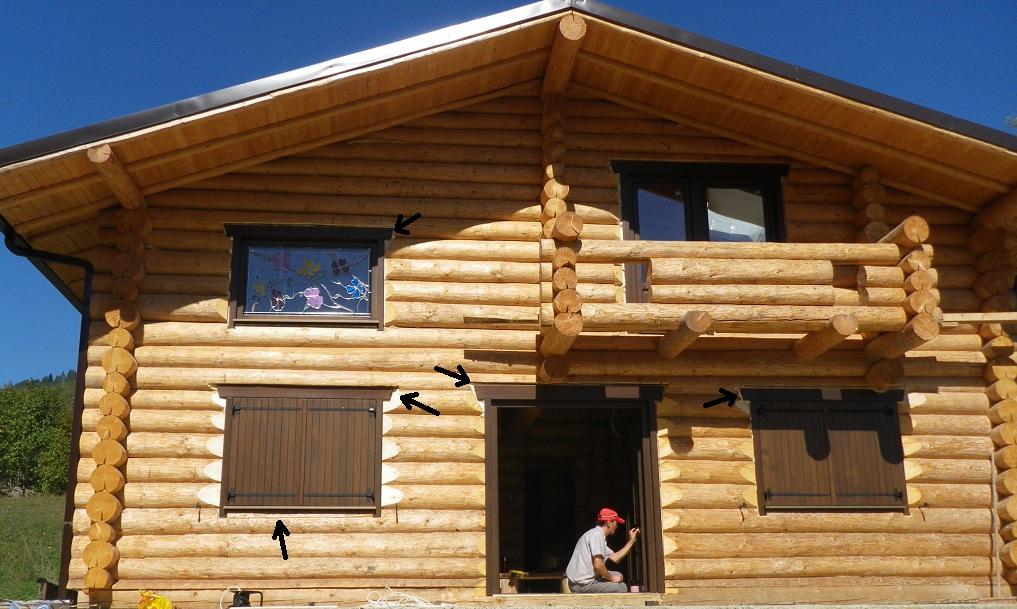 Casas y caba as de madera redonda - Casas de madera redondas ...