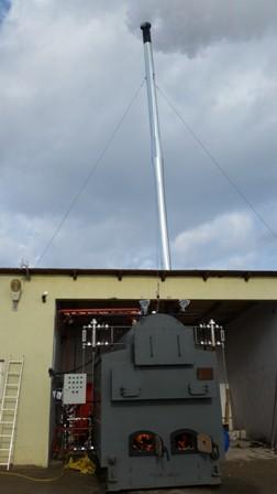 Generator cazan abur pe lemne si deseuri lemnoase 1300 kw
