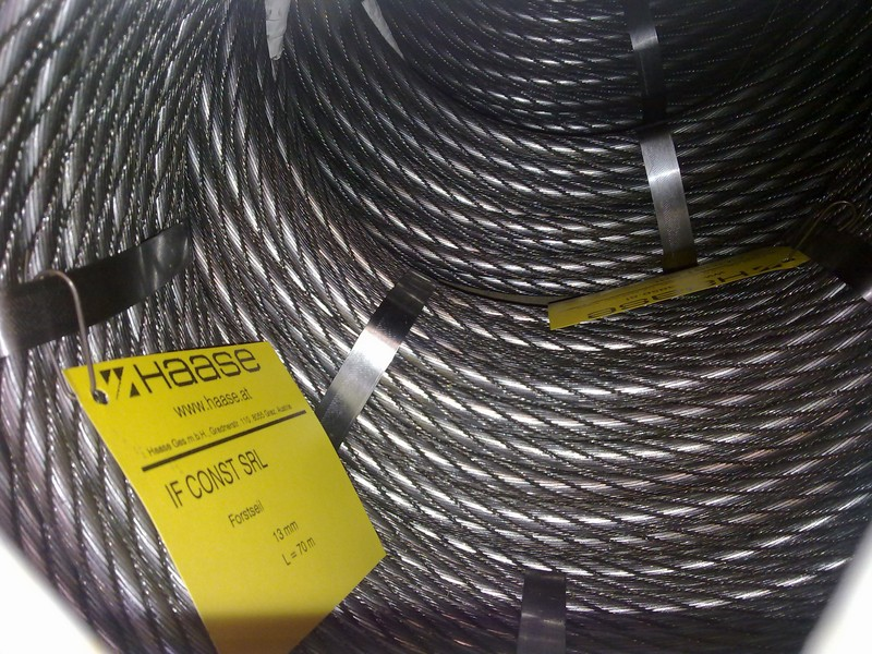 Colac cablu- HAASE Styria Forst 2, 13mm-70m, comprimat