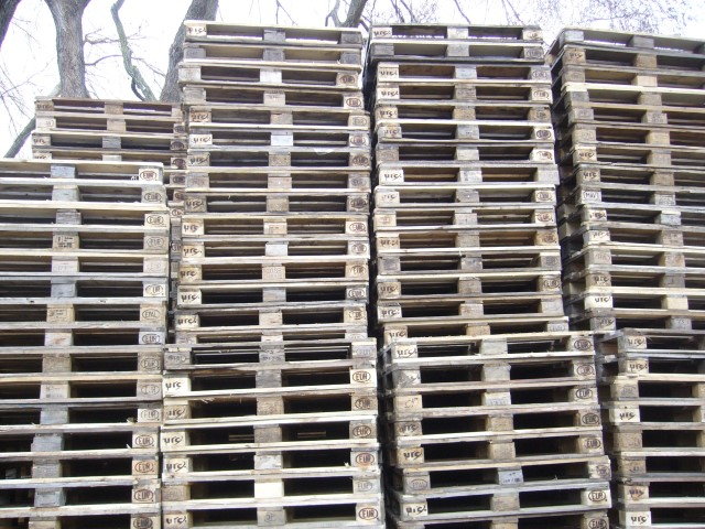 used euro palets and one way used pallets