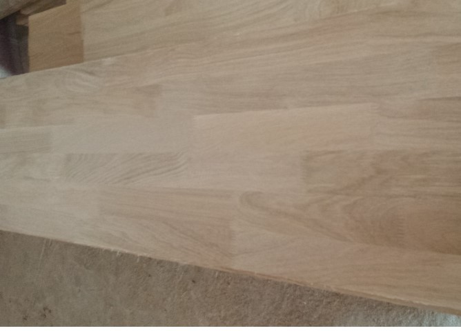 Panels for oak table tops