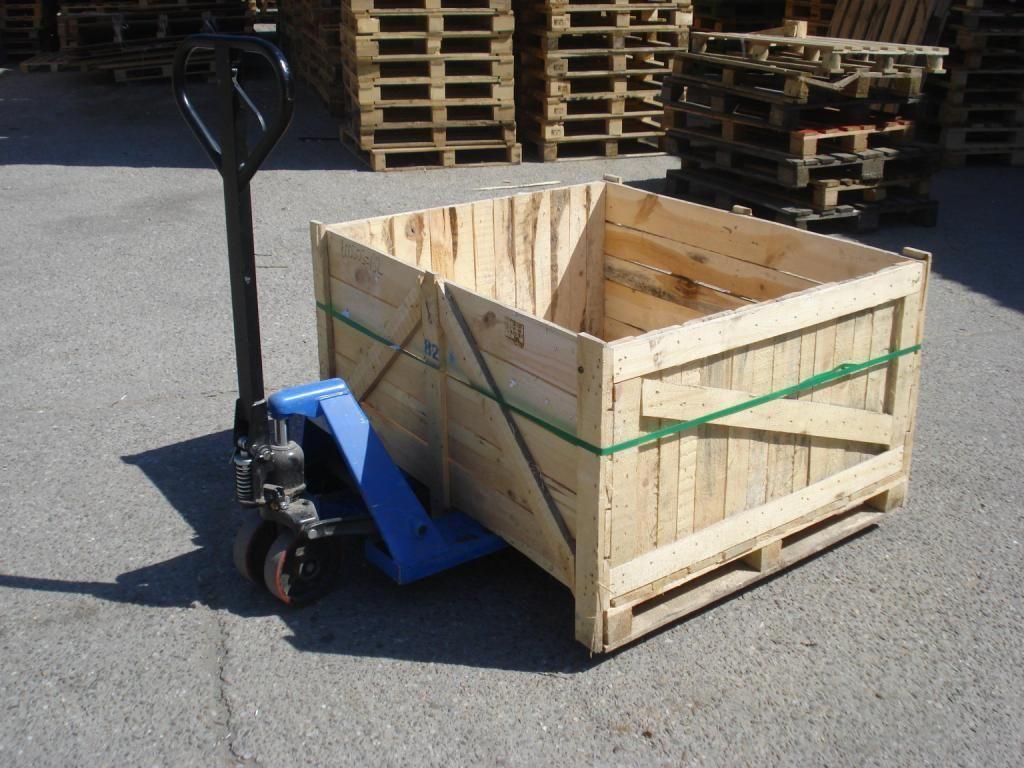 Cutii lemn paletate 1000x12000
