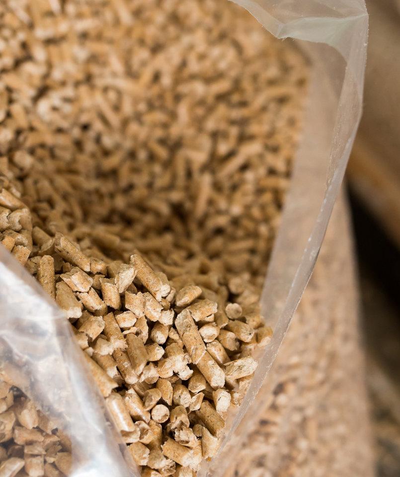 Picture Specification And Wood Pellets ~ Pellet di legno mm kg borse e bigbag qualit enplus a