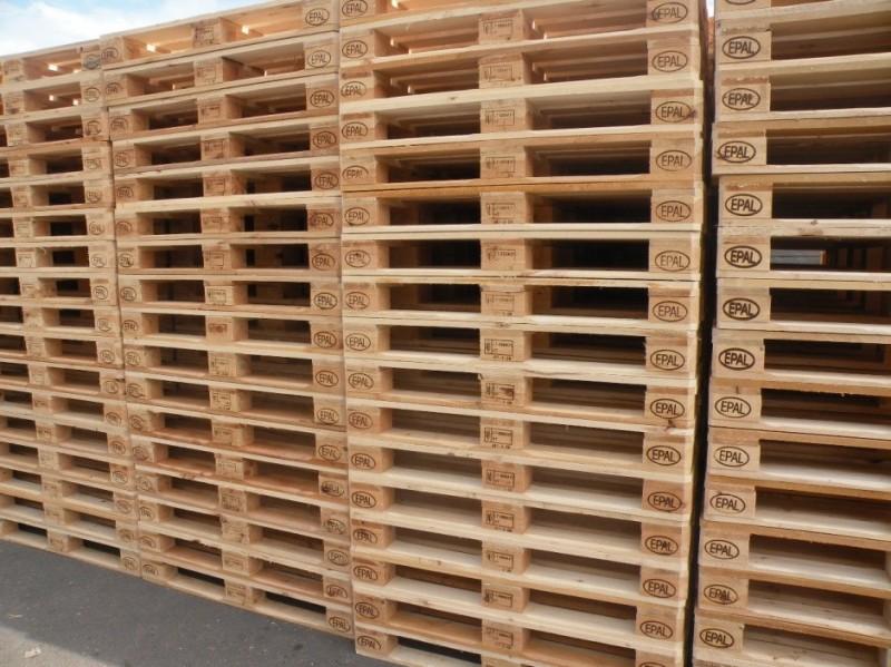 Palet de lemn EPAL (PALET CERTIFICAT EURO)