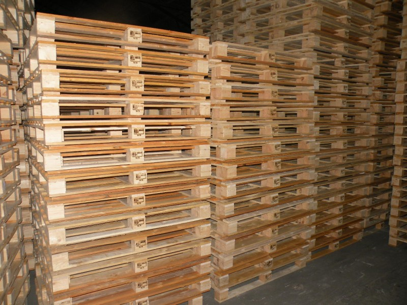 EPAL License Solid Wood Pallet