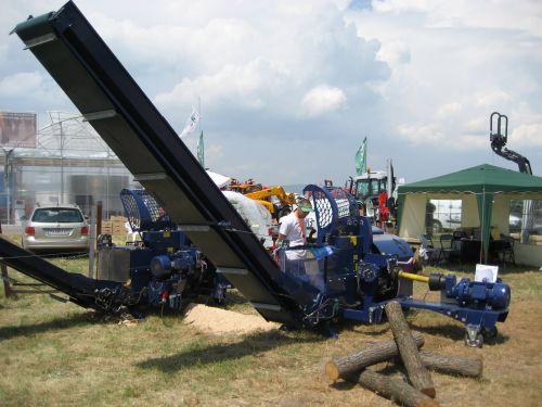 Tajfun RCA 400 JOY, linie taiere despicare busteni pentru lemn de foc