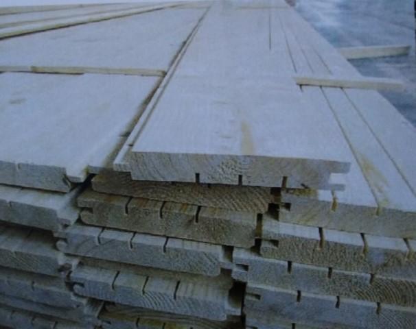 Scândură podea din molid, cu nut și feder, 22.5x146x4000 mm