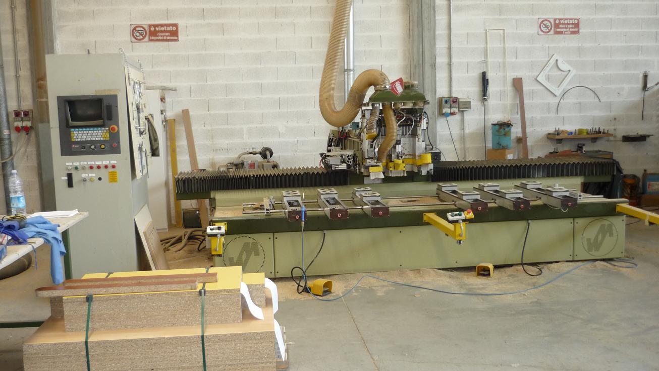 for Piccole planimetrie per la lavorazione del legno