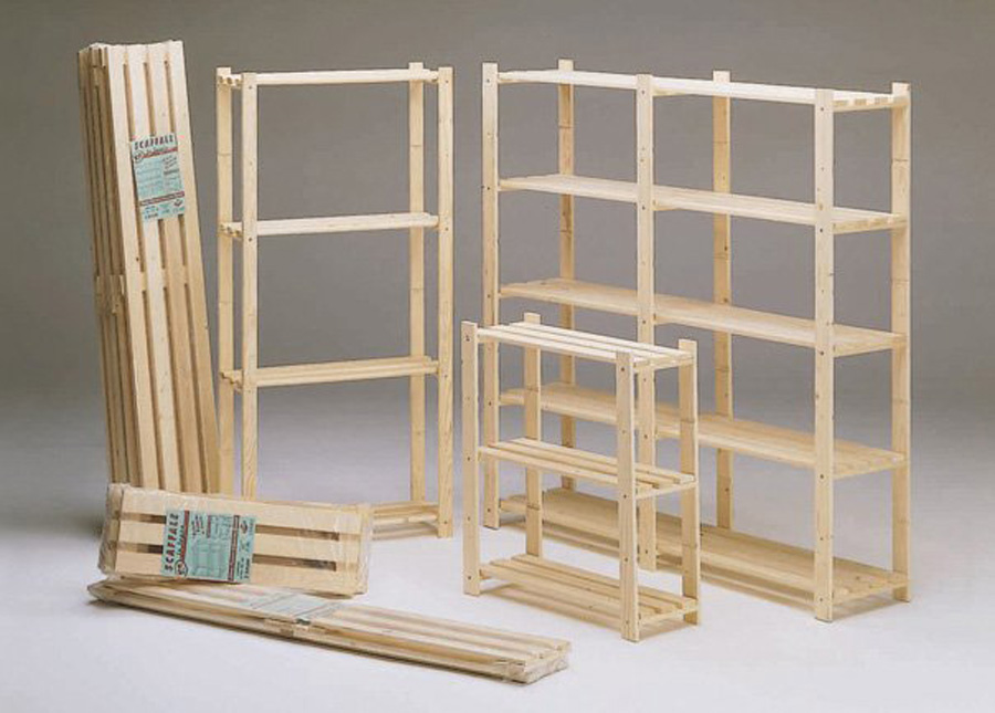 Rafturi id produs 2716 - Ikea scaffali in legno ...