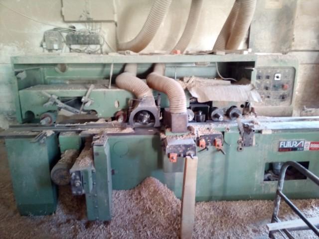 masina de frezat pe 4 fete