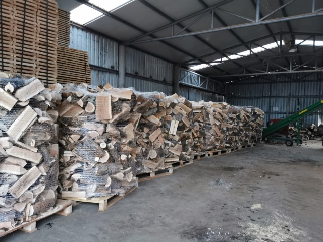lemn de foc paletizat